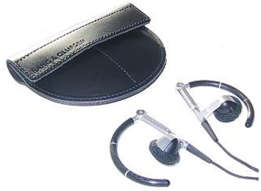 Leather etui Oortelefoon Earphone A8/A3