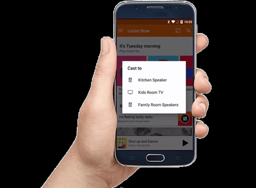 Cromecast Audio (Bijna als nieuw)