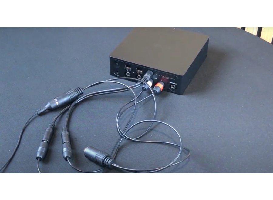 Stereo phono RCA en trigger kabel naar B&O Powerlink