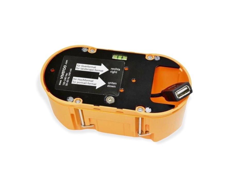 Montageset Inbouw 230V > USB A