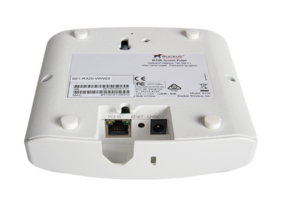 Ruckus Unleashed R320 11ac (Wi-Fi 5) Indoor Access Point