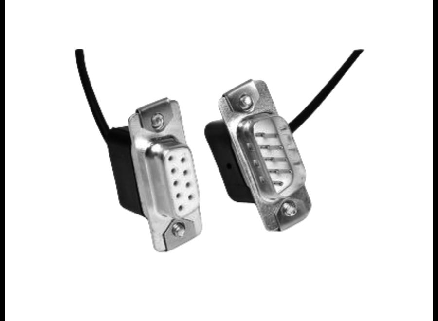 Male > Female Cable RS232 Dsub-9 5m.