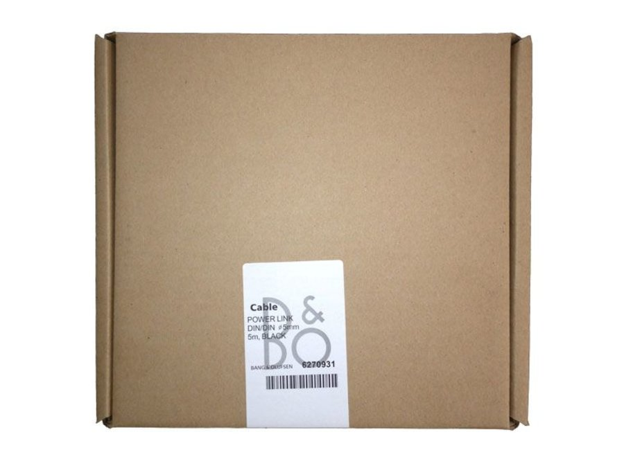 Origineel B&O DIN PowerLink kabel extra afgeschermd tegen ruis