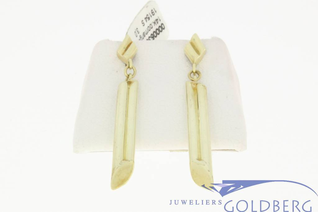 vintage design 14k earrings
