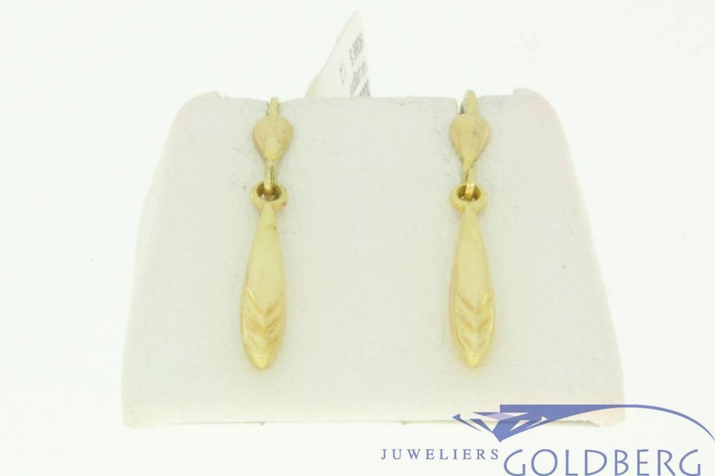 nice vintage 14k gold earrings