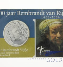 Silver Dutch 5 Euro coin 2006