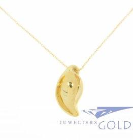 Vintage Tiffany & Co. 18k gouden ketting met fantasie hanger
