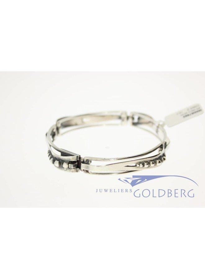 Vintage silver art deco bracelet