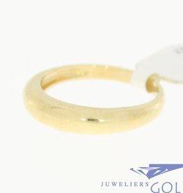 Vintage 14k gouden gladde ring