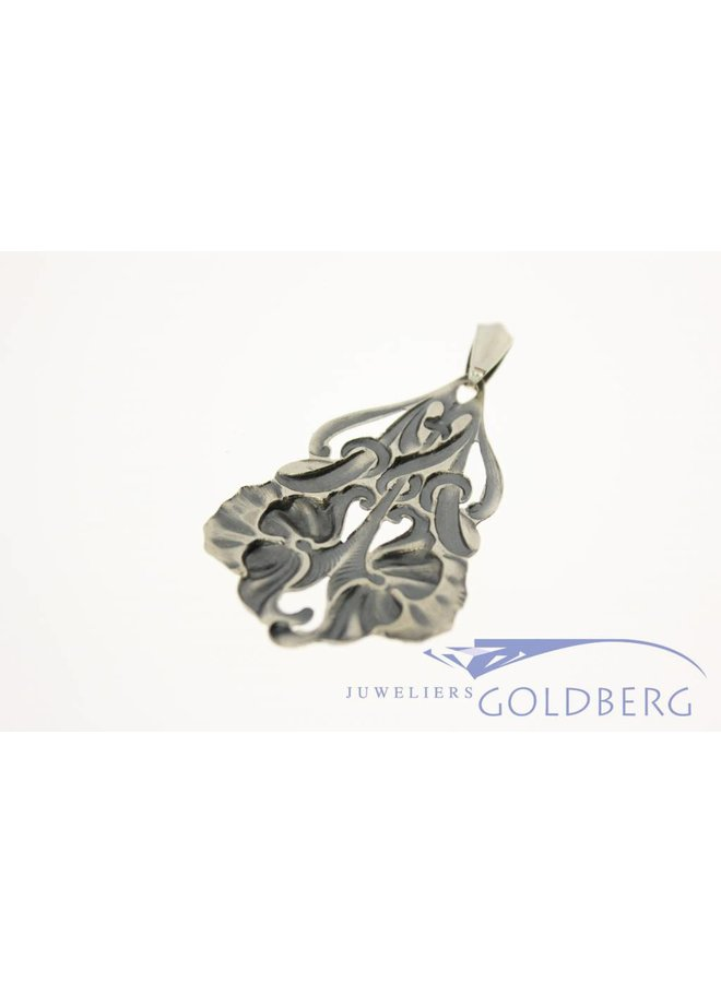 Antique silver pendant Alex Meijer 1928-1953