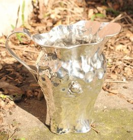 Silver pitcher modern design
