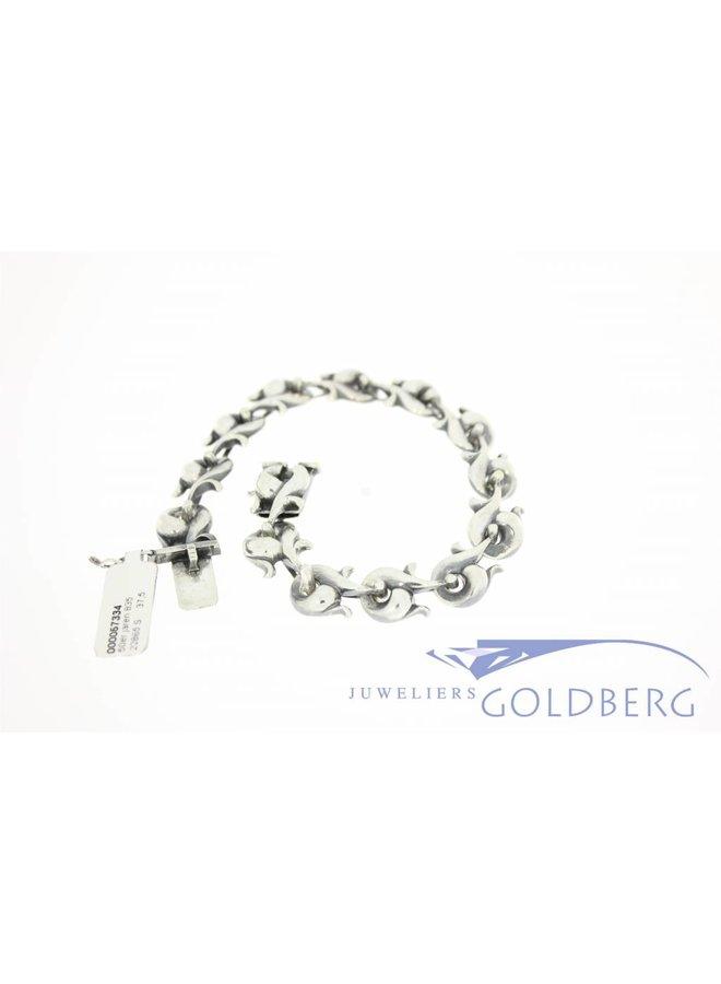 Vintage silver retro bracelet 1950's-60's