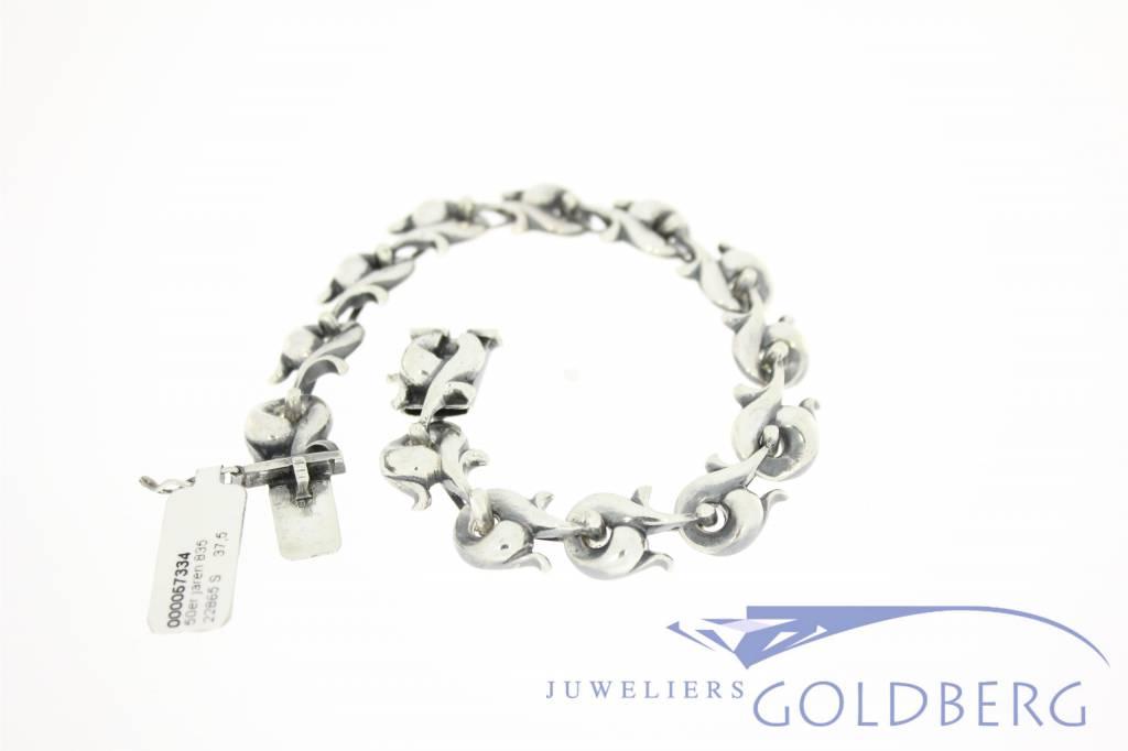 Vintage zilveren jaren '50-'60 armband