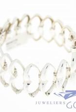 Vintage silver fantasy bracelet 1950s
