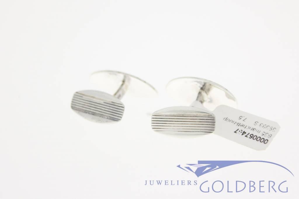 Vintage silver cufflinks 1970's