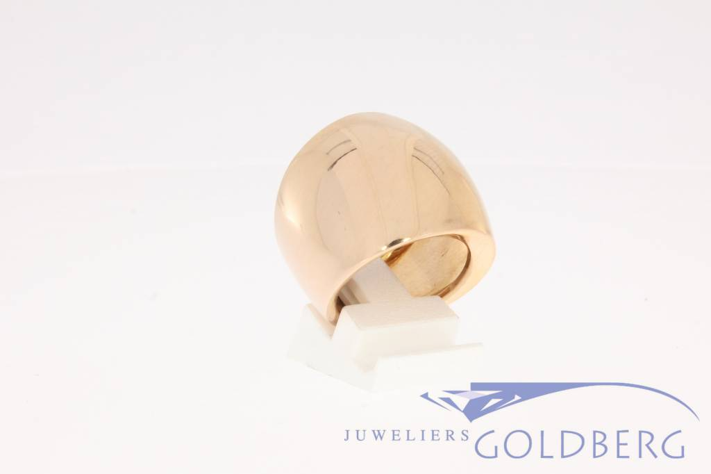 Rose gouden design ring Monzario