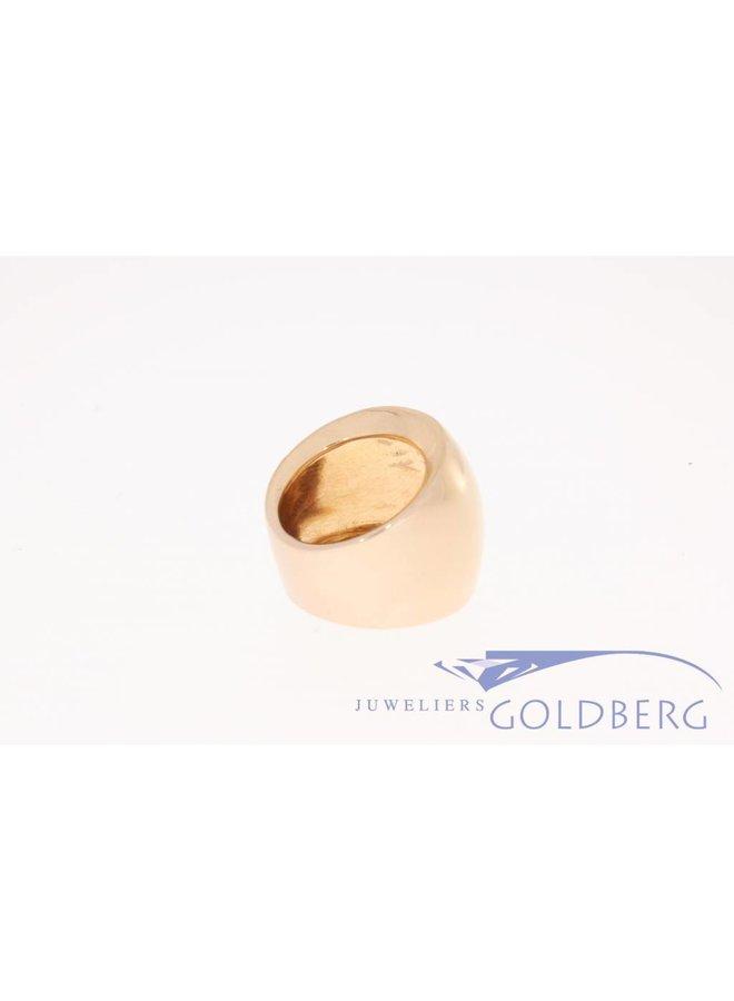 Rose gouden design ring Monzario