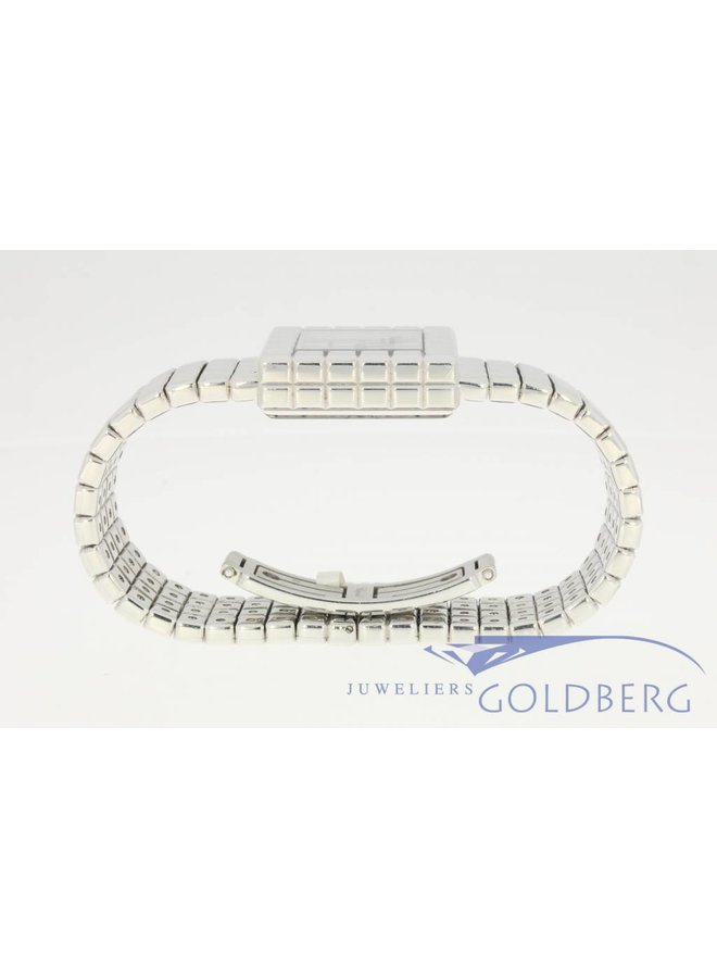 Vintage Chopard ice cube white gold 117407