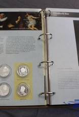 Collection album Rembrandt and his students in stamps and silver.