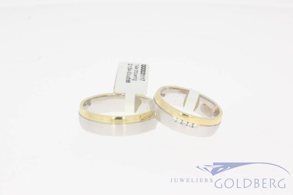 Trouwringen set Promises 2155-60 + 2154-60