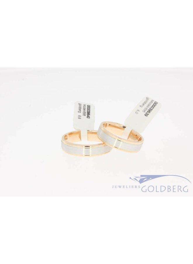 Trouwringen set Goldberg collectie K595