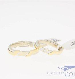 Vintage 14k gouden promises ringen