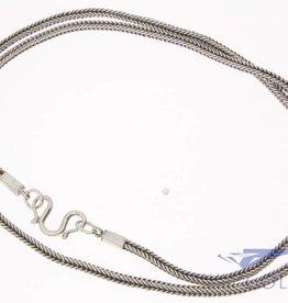 Vintage aziatische zilveren ketting