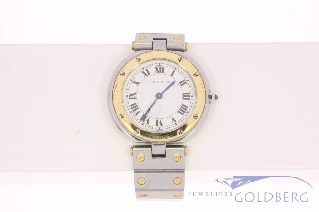 Cartier Santos Ronde 32mm steel-gold