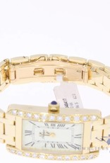 "18k gold ""Prestige"" ladies watch with 0.66ct in diamonds"