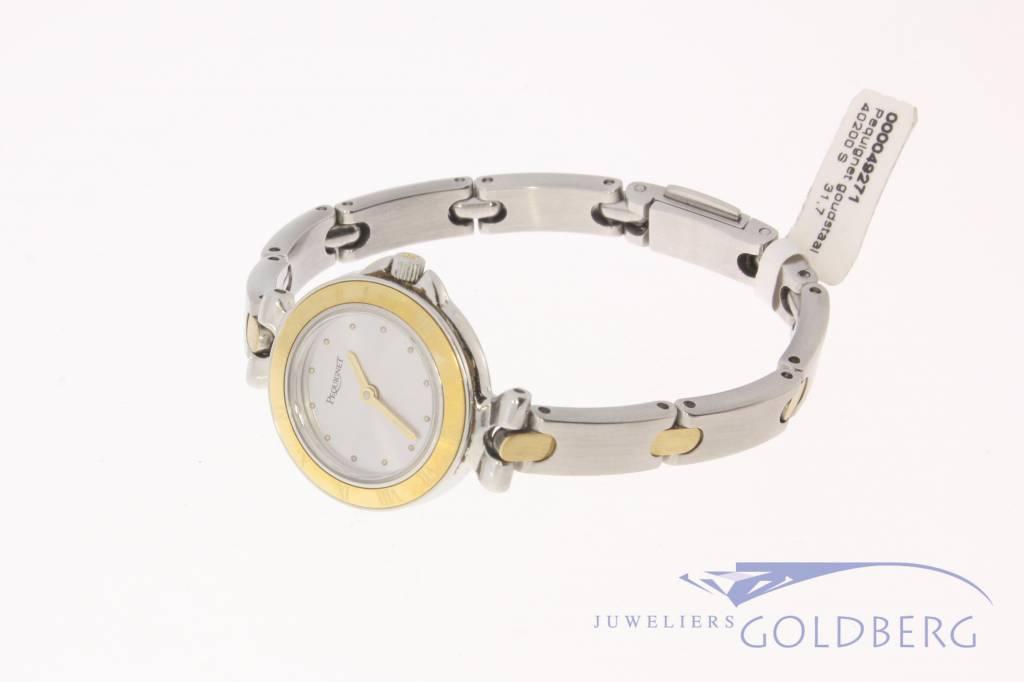 Pequignet ladies watch steel-gold 24,5mm