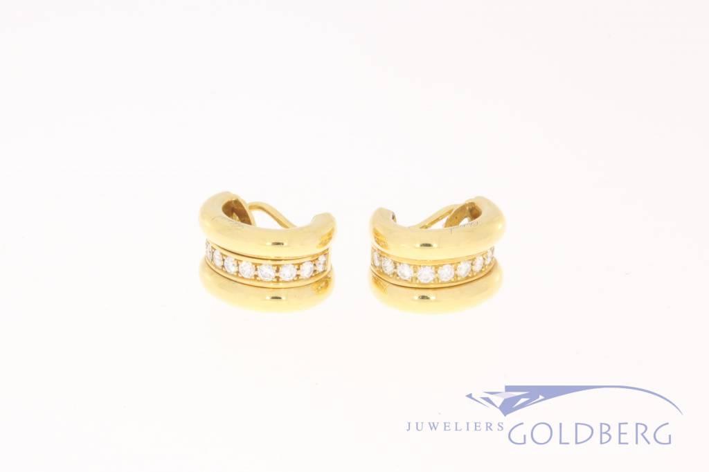 Chopard La Strada earrings with diamond