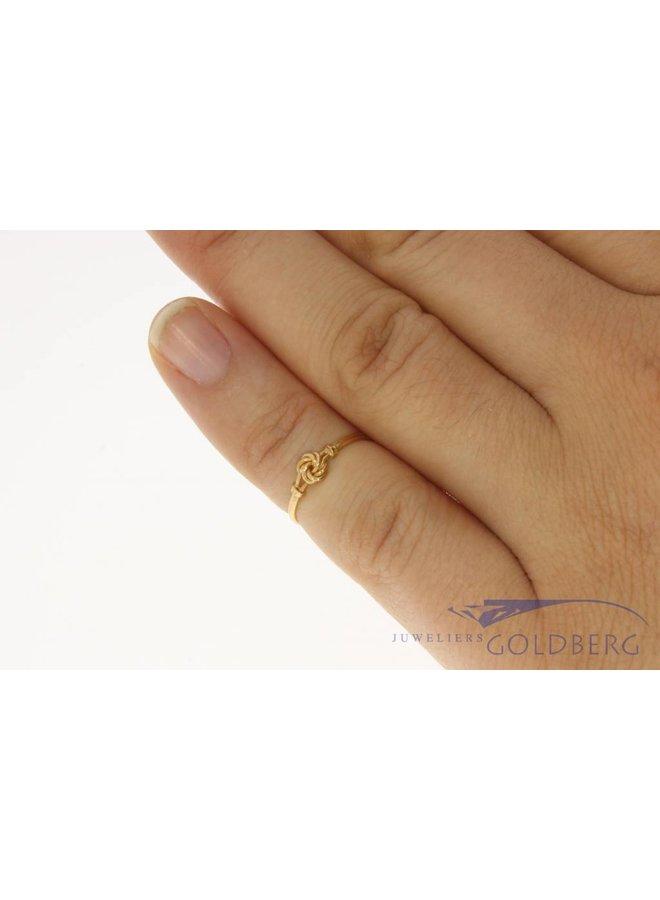 Vintage 18 carat gold children's ring Portugal