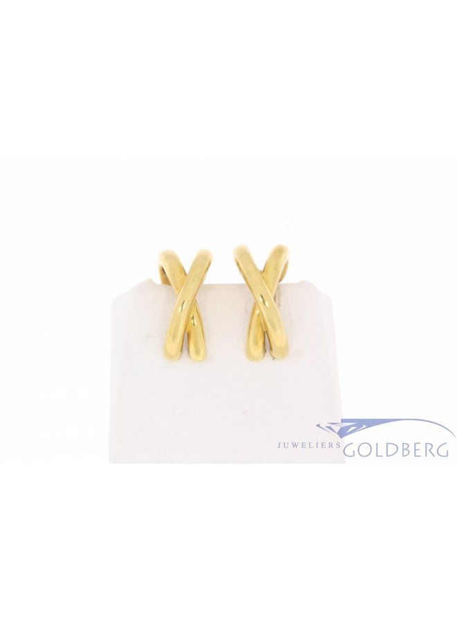 Vintage 18k gouden Paloma Picasso Tiffany & Co oorclips