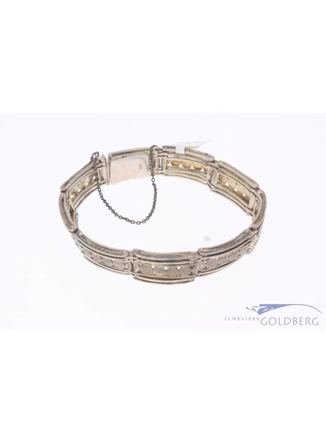 Antieke zilveren armband 1906-1953