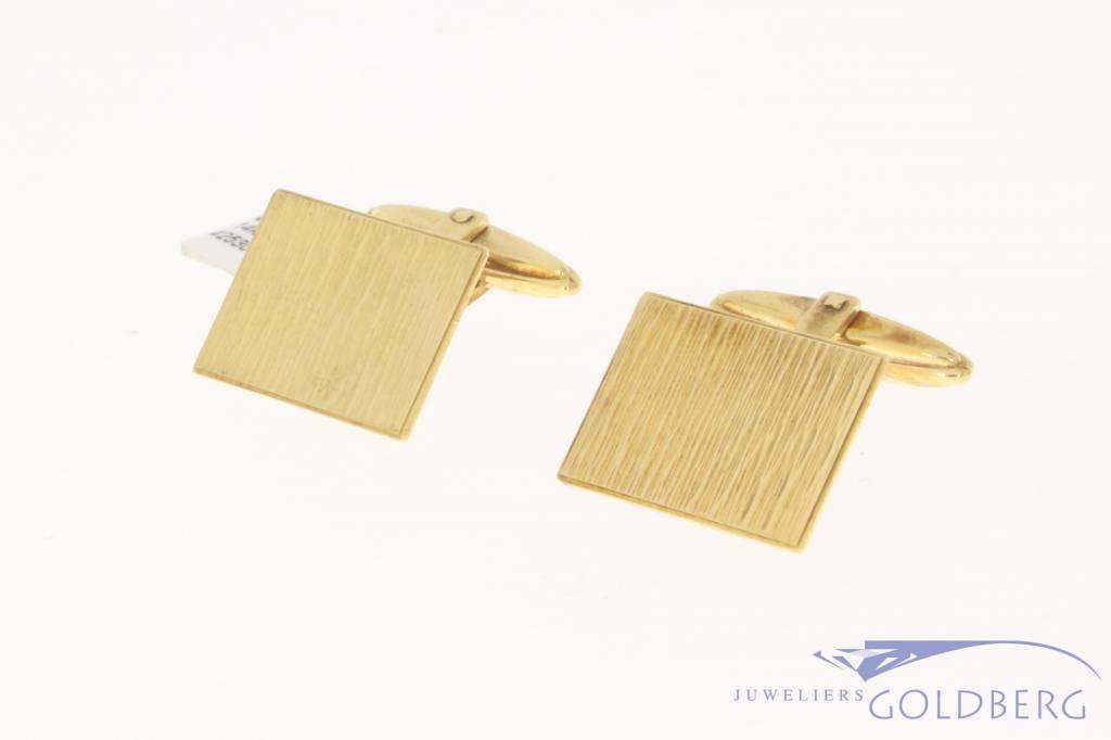 Vintage 14 carat gold cufflinks