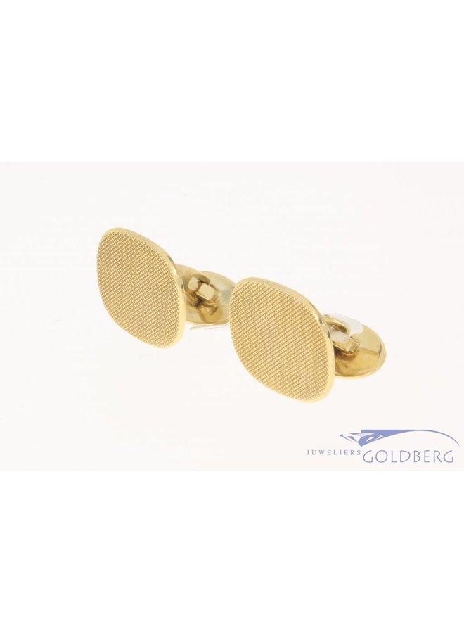 Vintage 14 carat gold edited cufflinks