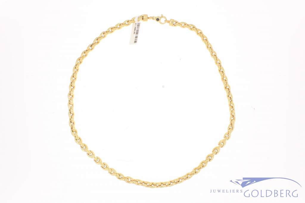 Vintage 14 carat gold necklace