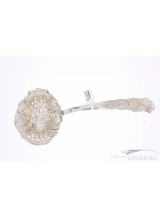 Antique silver sprinkle spoon 1865