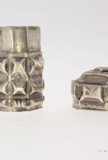 Antique silver snuff box ca. 1880