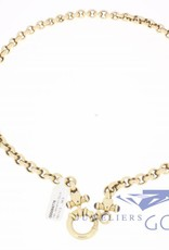 14k gold belcher necklace 50cm and 7,3mm wide