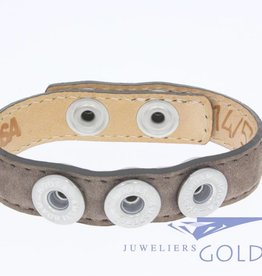 Noosa Amsterdam Noosa Wrap Bracelet brown