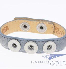 Noosa Amsterdam Noosa Wrap Bracelet Denim