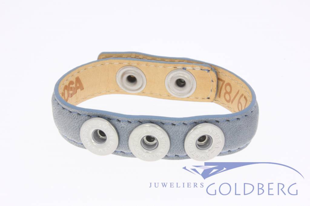 Noosa Wrap Bracelet Denim