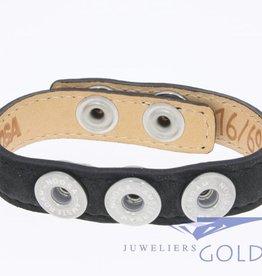 Noosa Amsterdam Noosa Wrap Bracelet Black
