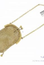 Antique 14 carat gold little purse/bag 1906-1953