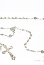 Antieke zilveren rozenkrans import