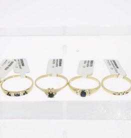 6x gouden ring