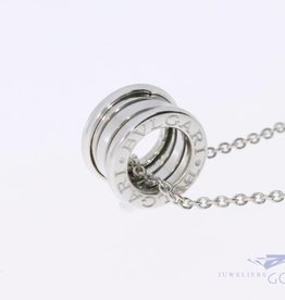 Bulgari B.ZERO 1 pendant + necklace white gold