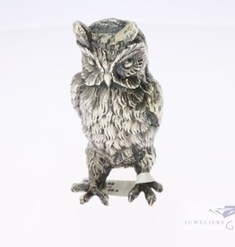 silver minature owl