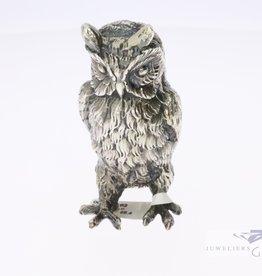 Zilver miniatuur uil